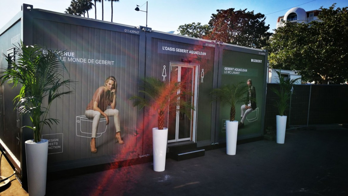 Geberit WC-Oase in Cannes